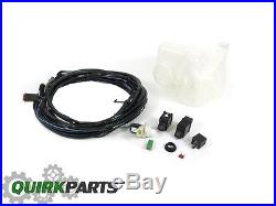 03-06 Jeep Wrangler Hard Top Wiring Harness Switch Reservoir Tank Kit New Mopar