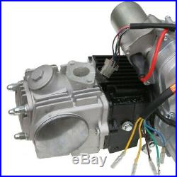 125cc Engine Motor Semi Auto + Wiring Harness + Exhaust Muffler for ATV ATC70 90