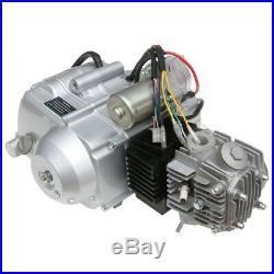 125cc Semi Auto Engine Motor 3 Speed Reverse QUAD ATV BUGGY