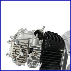 125cc Semi Auto Engine Motor 3 Speed+reverse Atv Quad Go Kart+ Wiring Harness