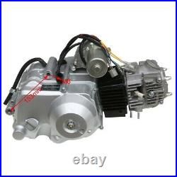 125cc Semi Auto Engine Motor With Reverse 3+1 Wiring Harness Exhaust Go Kart Buggy