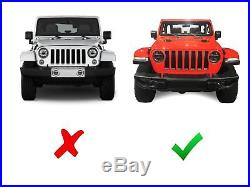 150w 30 led light bar with front hood top bracket wiring for 18+ jeep  wrangler