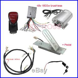 1800W 48V Brushless Electric Motor Speed Controller Throttle
