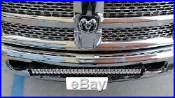 180W 30 LED Light Bar with Bumper Bracket, Wirings For 03-up Dodge RAM 2500 3500