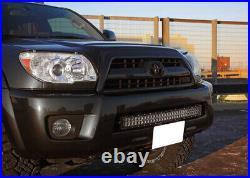 180W 30 LED Light Bar with Lower Bumper Bracket, Wiring For 03-09 Toyota 4Runner