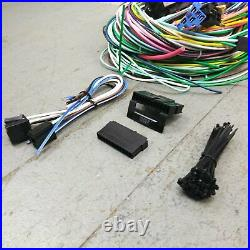 1946 1992 Jeep Wire Harness Upgrade Kit fits painless fuse compact new update