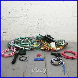 1955-1957 Chevy Bel Air 24 Circuit 15 Fuse Complete Dash Wiring Harness Kit GM
