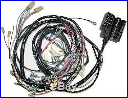 1958 1961 Corvette Dash and Forward Lamp Wiring Harness. NEW Reproduction