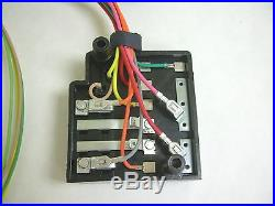 1958 Chevy Impala Belair Biscayne Under Dash Wiring Harness with Fusebox