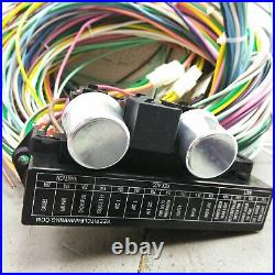 1962 1984 Porsche Wire Harness Upgrade Kit fits painless compact circuit fuse