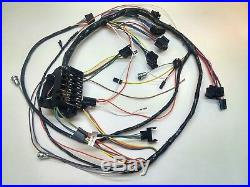 1965 chevy impala ss under dash wiring harness console shift automatic  gauges