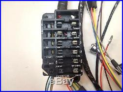 1966 Chevy Impala SS Under Dash Wiring Harness Console Shift Automatic Gauges