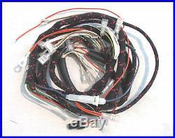 1968 Triumph T120 Bonneville Tr6 Etc Cloth Wiring Harness Pn# 54953443 Tbs-6011c