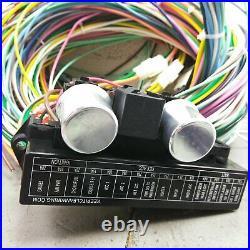 1970 -1981 Chevy Camaro 24 Circuit Under Dash Wiring Harness Upgrade Kit 15 Fuse