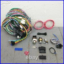 1973-87 Chevy Truck Main Wiring Harness Fuse Box Headlight Switch Kit big 10 i6