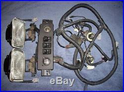 1997 2001 Jeep Cherokee XJ OEM Fog Lights Wire Harness Switch Panel ADD ON KIT