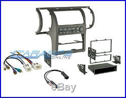 2003-2004 G35 Tan Car Stereo Radio Dash Mounting Trim Bezel Kit W Wiring Harness