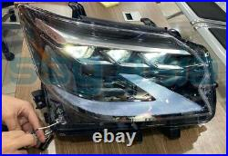 2020 LEXUS GX460 HEADLIGHTS SET (RIGHT AND LEFT, With Wiring Harness)