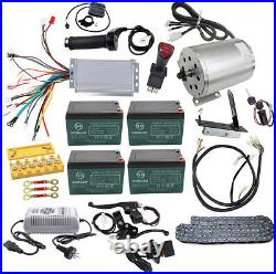 48v 1800w Brushless Motor Speed controller Reverse switch Wiring Harness Pedal