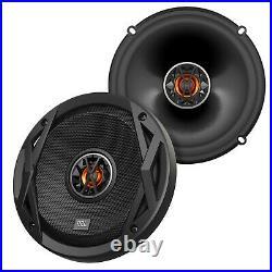 4x JBL 6.5 300-Watt 2-Way Coaxial Car Speakers, Mounting Brackets, Wire Harness