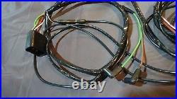 64 Ford Galaxie Engine Gauge Feed wiring harness big block 390 427