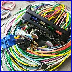 67 72 Chevrolet C10 C15 Rear Leaf Truck Wire Harness Upgrade Kit fits painless