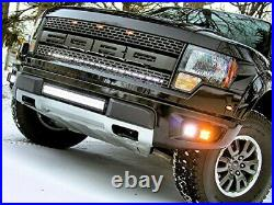 80W CREE LED Pod Lights with Lower Bumper Brackets, Wirings For 10-14 Ford Raptor