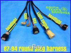 87-94 Yamaha Banshee Wiring harness NO TORS, NO PARK BRAKE