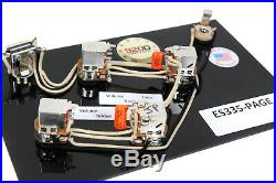 920d Gibson Es 335 Jimmy Page Wiring Harness With Switchcraft Bourns