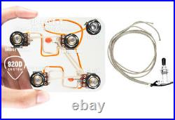 920D LP-PAGE+T Wiring Harness with 500K Push-Pull Pots for Jimmy Page Mod Les Paul