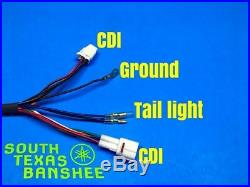 95-96 ONLY Yamaha Banshee Wiring Harness square plug