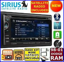 98 99 00 01 Dodge Ram Siriusxm Cd/dvd Usb Aux Bluetooth Usb Car Radio Stereo