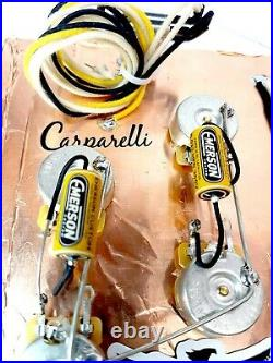 AAAA+ Fully Loaded Pre-Wired Harness EMERSON CUSTOM For Les Paul
