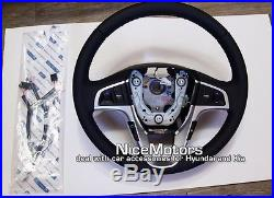 Accent solaris Leather Steering Wheel Wire harness OEM For Hyundai 2011 2015