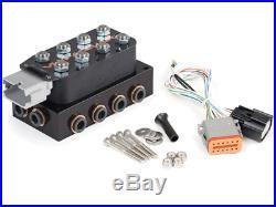Accuair VU4 Solenoid Valve Manifold Unit & Air Suspension Control Wiring Harness