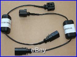 Adapter für Audi Q7 4L Facelift LED Blinker Frontblinker indicator Scheinwerfer