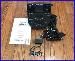 Alesis Nitro Module withSnake Cable & 8 Mesh Drum Pad NEW Drum Kit Wiring Harness