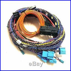 BMW E-Series LOGIC7 L7 HiFi New Wiring Harness with Plugs and MOST Optical Loom