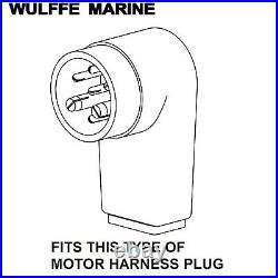 CDI 474-9550 Mercury Boat Side Wiring Harness 45876A10, 45876A15, 45876A20
