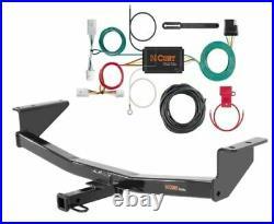 Curt Class 2 Trailer Hitch & Custom Wiring Harness for Nissan Rogue S/SV/SL