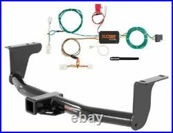 Curt Class 3 Trailer Hitch & Custom Wiring Harness for Nissan Murano S/SL/SV