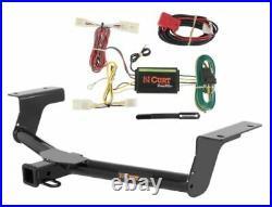 Curt Class 3 Trailer Hitch & Custom Wiring Harness for Toyota RAV4 Base/Sport
