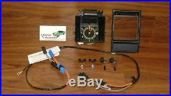 Dash Quartz Clock 12pc Kit 69 Camaro withcenter bezel wiring clips GM Resto Part