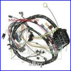 Dash wiring harness 64 65 66 67 Chevy Chevelle Malibu El camino