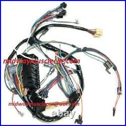 Dash wiring harness 66-67 Pontiac GTO LeMans Tempest