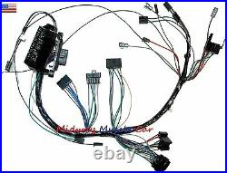 Dash wiring harness with fuseblock 65 Chevy Impala Biscayne Bel Air