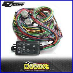 EZ Wiring 12 Circuit Universal Mini Complete Wiring Harness EZ12MINI