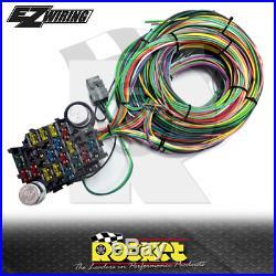 EZ Wiring 21 Circuit Universal Complete Wiring Harness EZ21