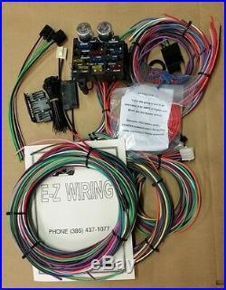 Ez Wiring 12 Circuit Standard Panel Wiring Harness Deluxe