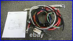 Farmall Model H Wiring Kit. Ser# 501=19233. With Regulator On Post. See Details